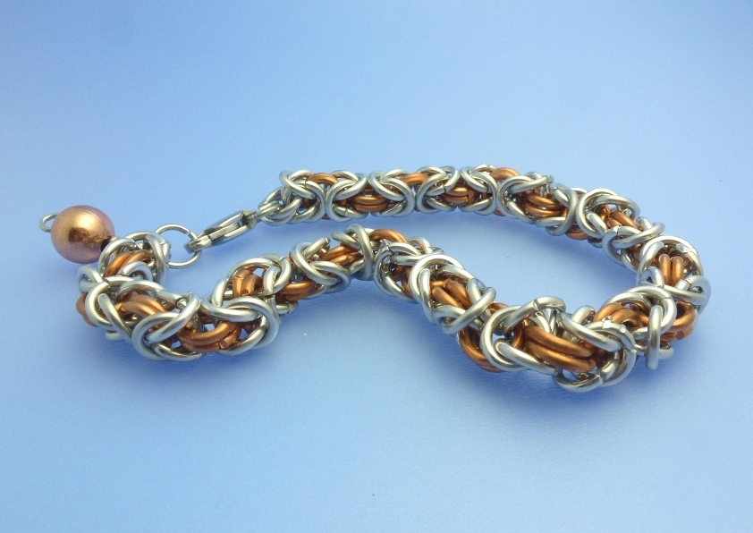 Byzantine and Box Chain Maille Tutorials ~ The Beading Gem\'s Journal
