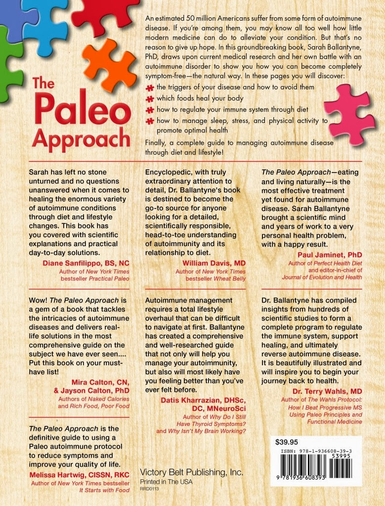 Kaiku Lifestyle: Book Review: Paleo Approach Is A Must ...