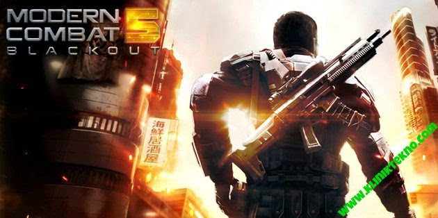 Modern Combat 5: Blackout v1.2.0o Apk+Data (Offline)