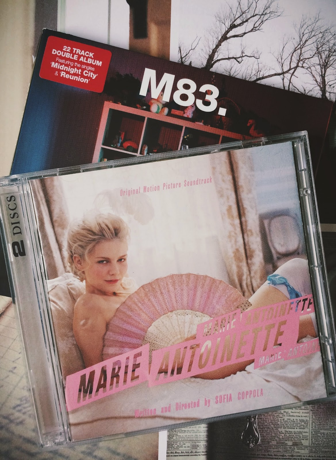 Spring Playlist, Bramble and Thorn, Marie Antoinette, M83, Music