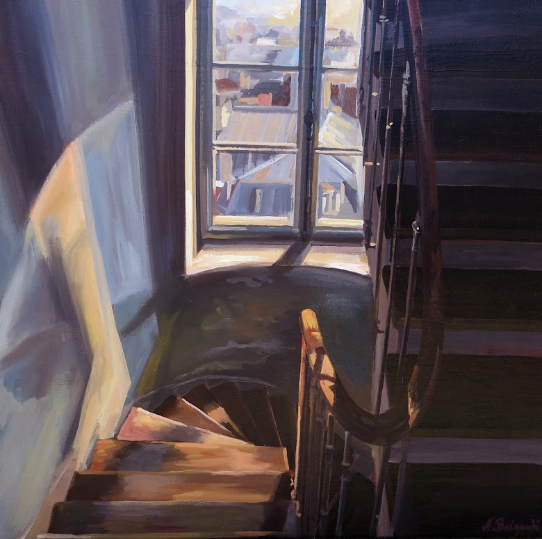 Escalier montmartois