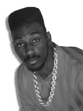 Big Daddy Kane afro hitop fade