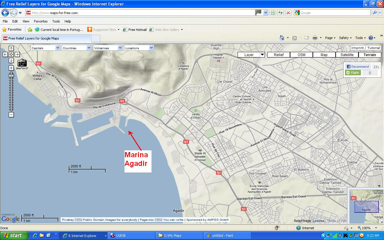 dutchlink Sailing from Funchal Madeira to Agadir Morocco 5 to 8