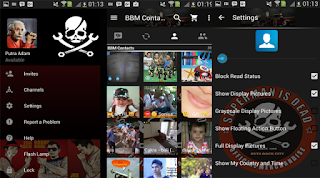 BBM Mod Superman Is Dead v2.10.0.35 Apk