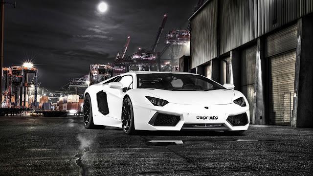 Lamborghini Aventador By Capristo 2012 HD Wallpaper