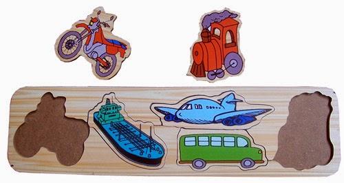 puzzle edukasi anak kendaraan