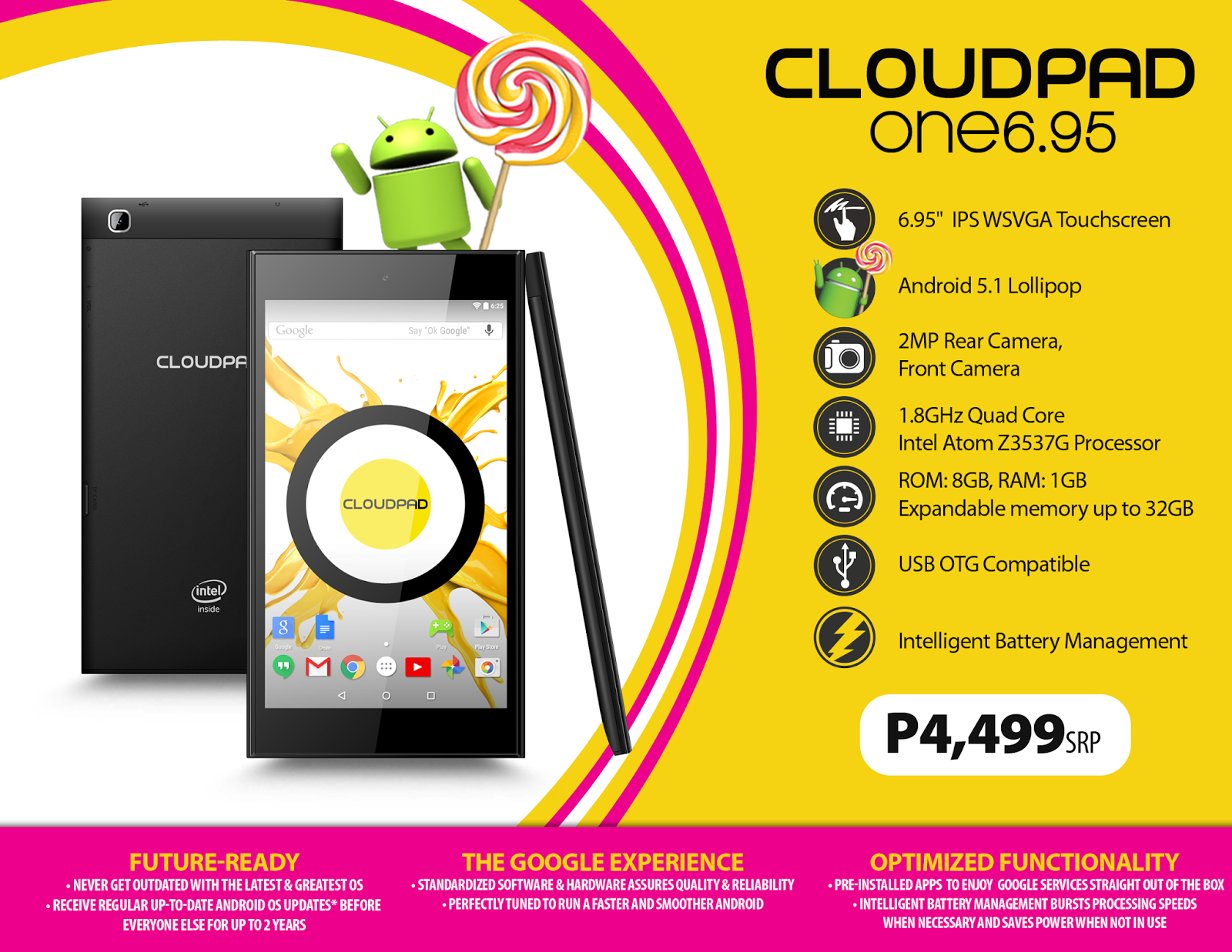 CloudPad One 6.95