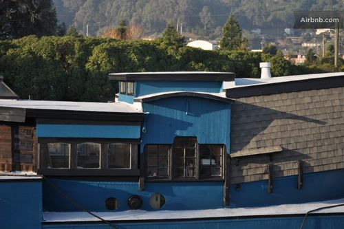 Vintage Sausalito Houseboat A Simple Life Afloat