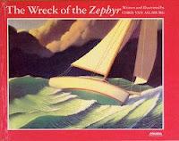 bookcover of WRECK OF THE ZEPHYR by Van Allsburg