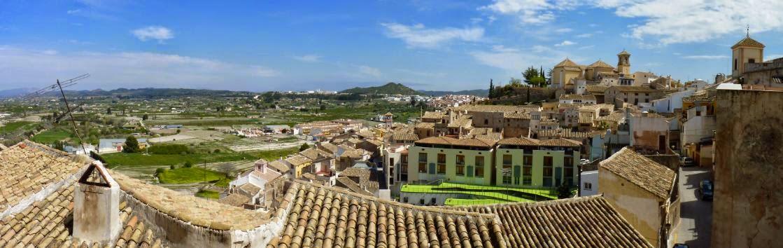 Cehegín desde la Plaza del Castillo.