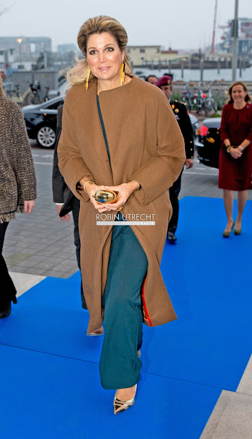 Queen Maxima at Prince Bernhard Cultuurfonds Prijs 2014