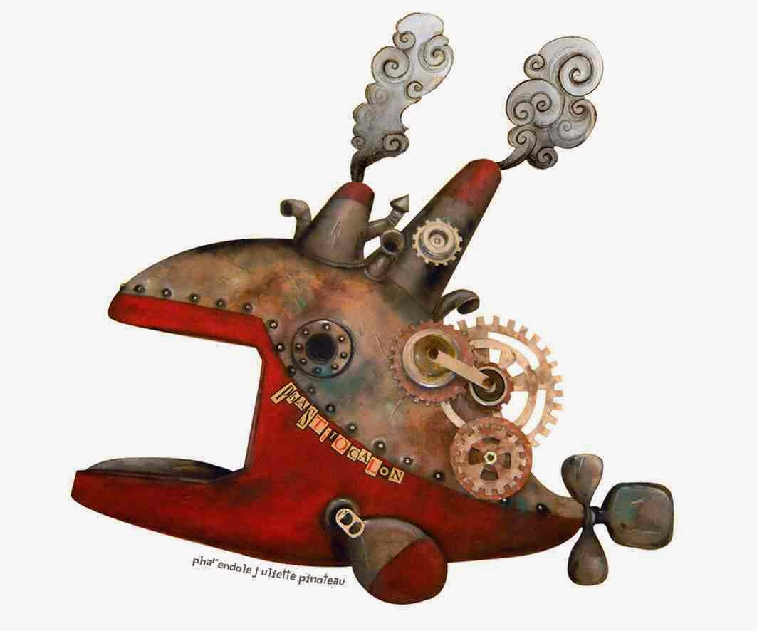 Illustration steampunk