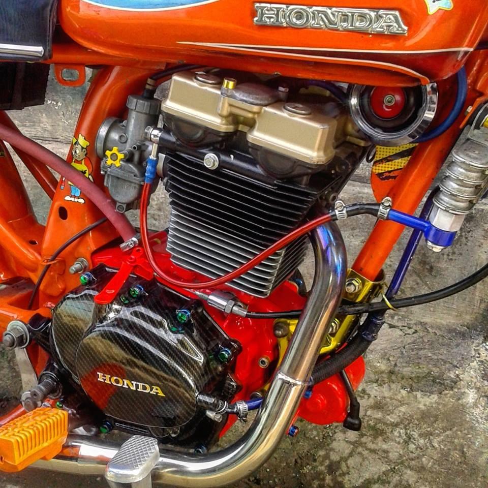 Foto modifikasi honda cb kontes keren for South motors honda us1
