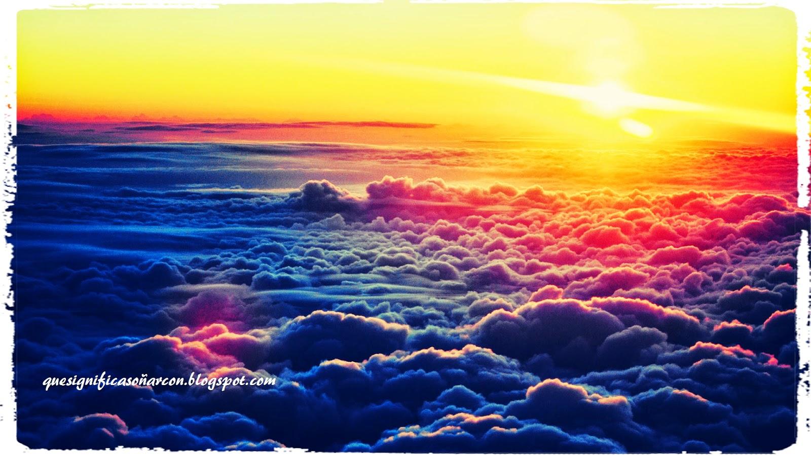 las nubes cobran significado en nuestros sueños