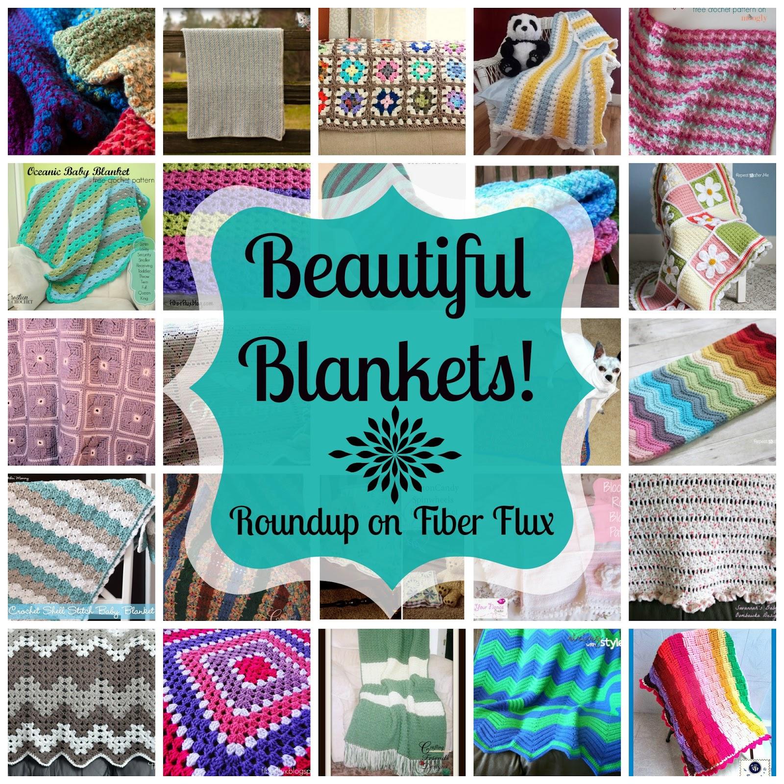 Fiber Flux Beautiful Blankets 30 Free Crochet Blanket Patterns