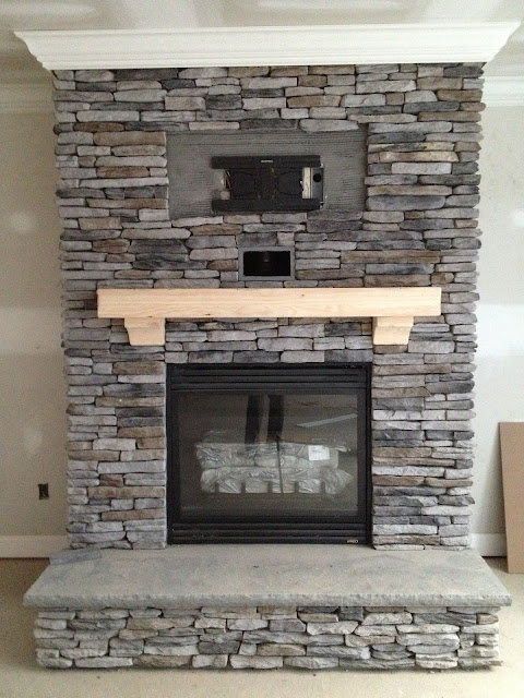 Electric Fireplace Trim and Paint round 1