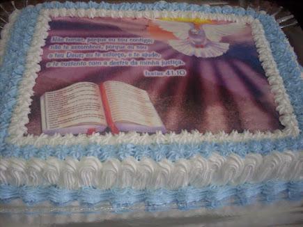 BOLO TEMA BIBLICO