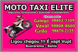 Moto Taxi ELITE - Ligou chegou