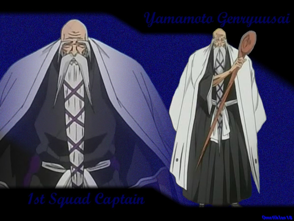 Captain Yamamoto Wallpaper Posted by Tube at 12:11