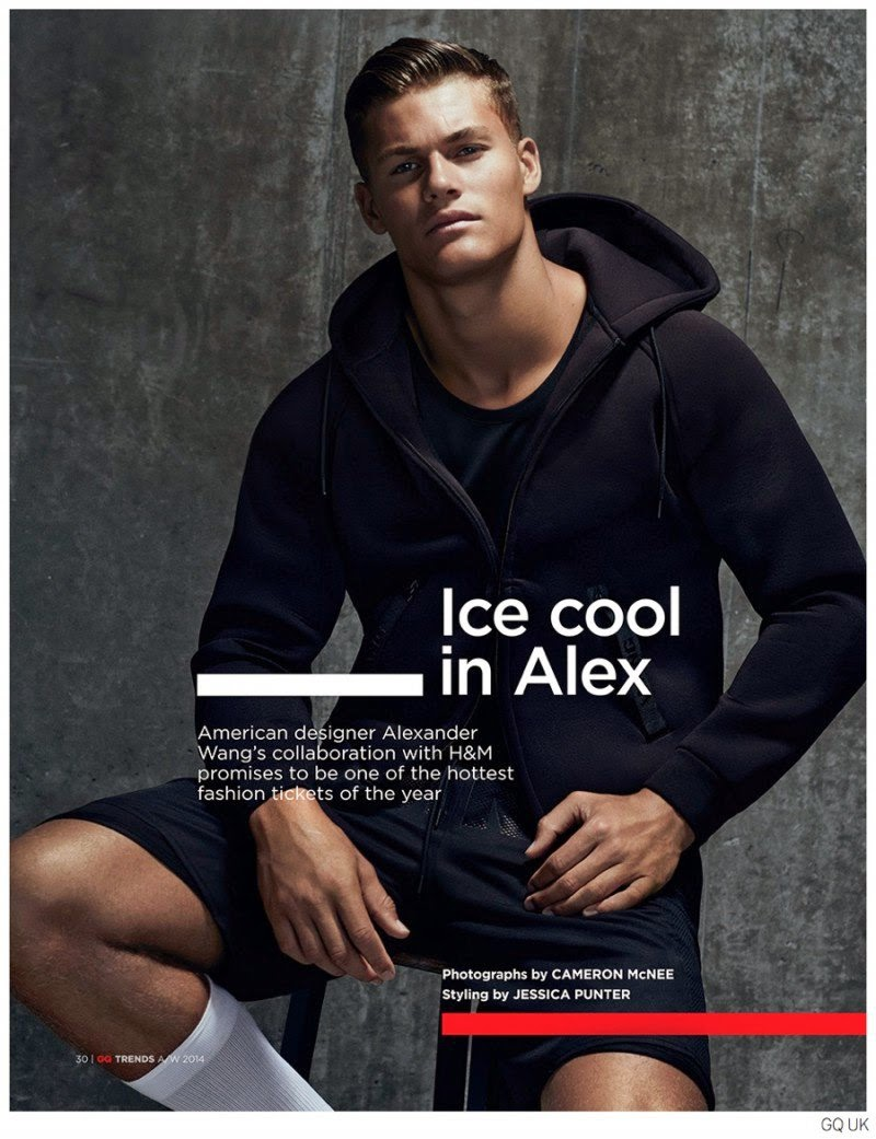 ALEXANDER WANG FOR H&M LOOKBOOK PREVIEW MEN'S COLLECTION