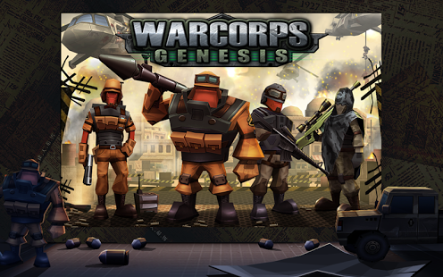 WarCom Genesis Mod apk data
