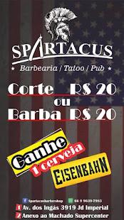 Spartacus Barbearia em Sinop