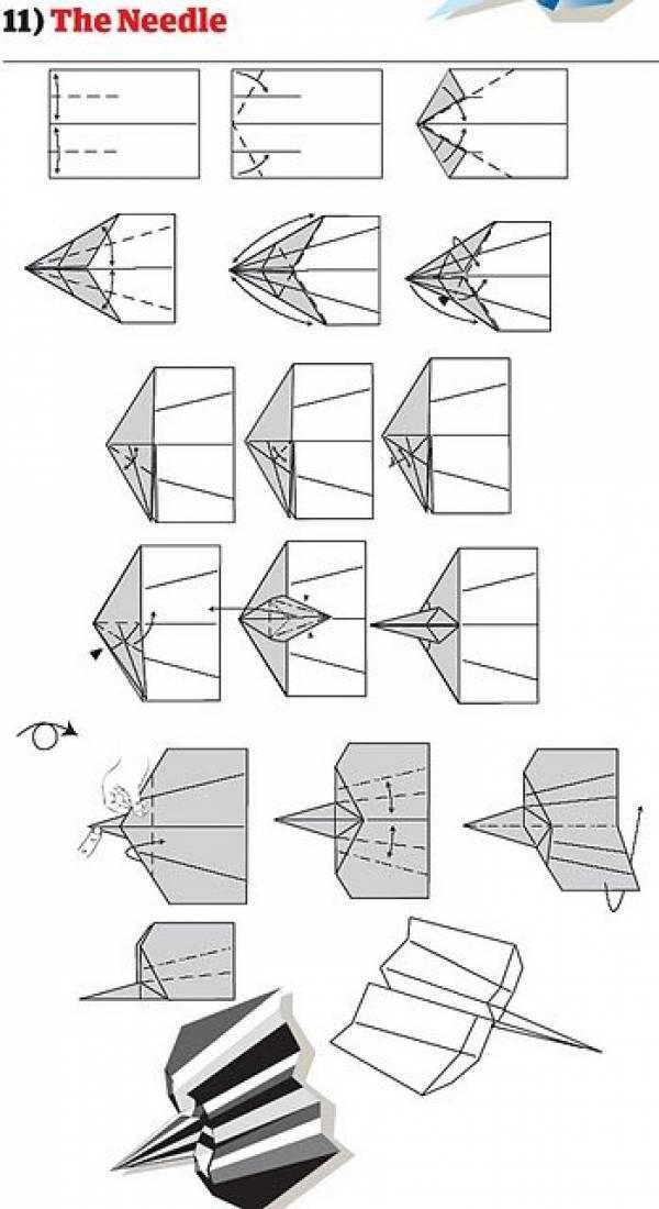 12 Cara buat kapal terbang kertas