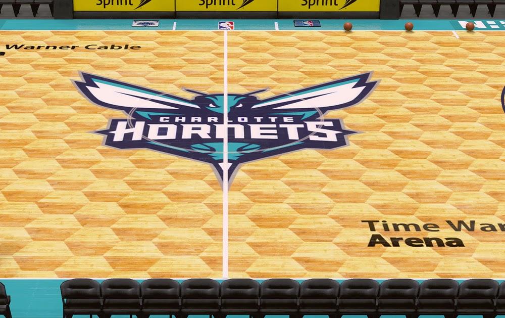 NBA 2K14 Hornets Time Warner Cable Arena Mod