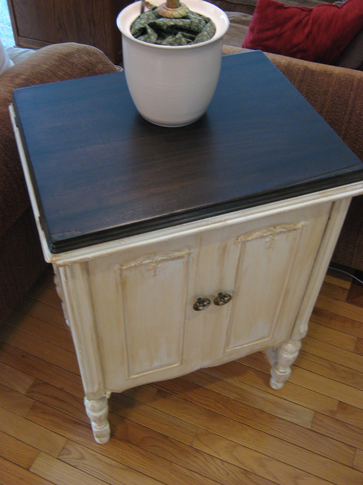 french distressed furniture. Fake-It Frugal: Fake French Country Furniture, The Side Table (Part 1 Of 3) Distressed Furniture C