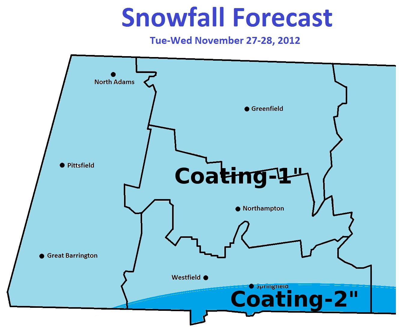 november 27 28 snowfall map