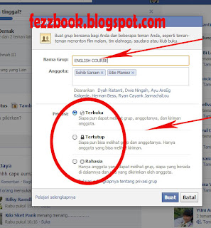 Cara Membuat Group (Group Tertutup Atau Group Tertutup) Di Facebook