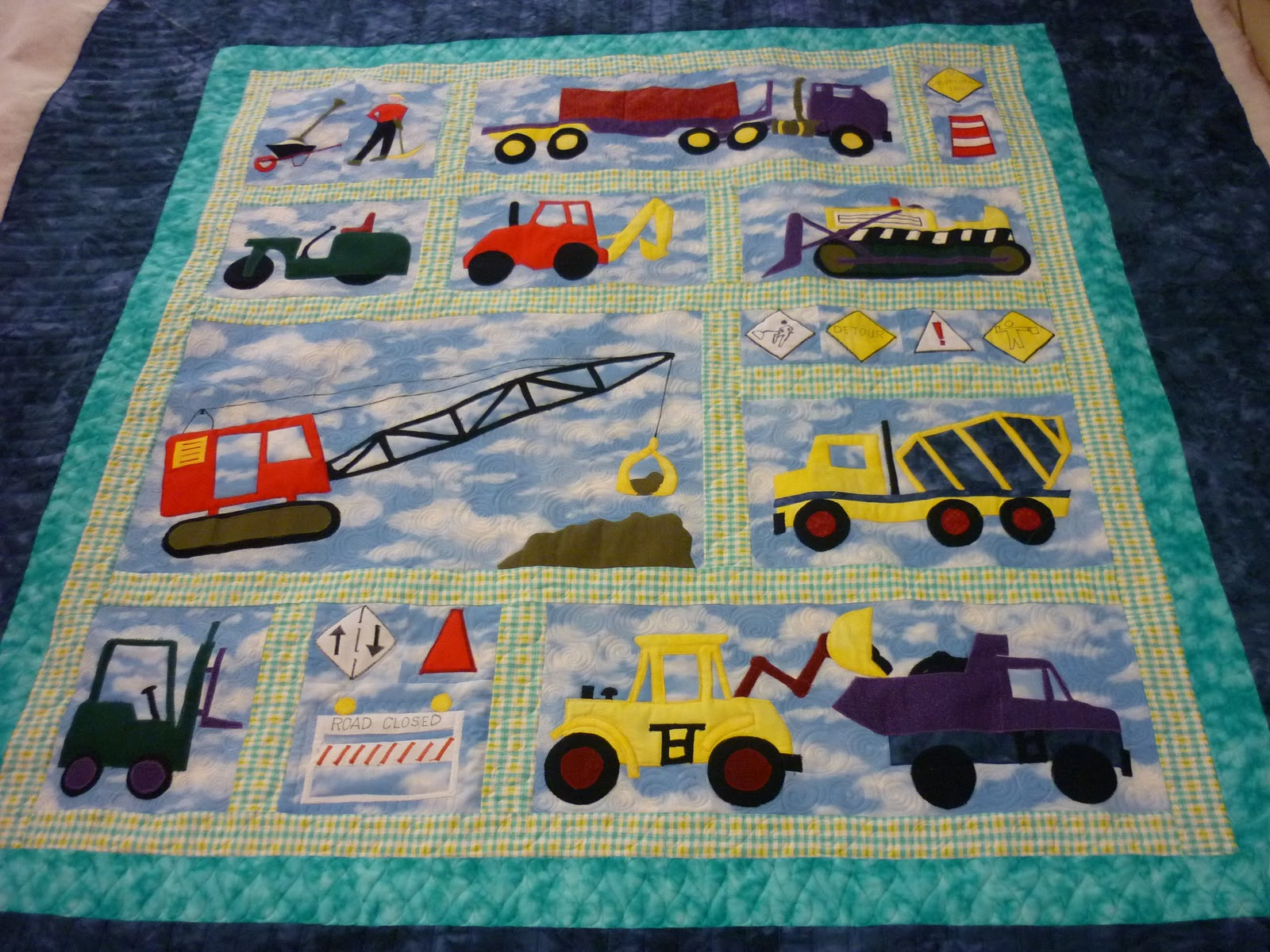 There are not to many quilt patterns around well here on the  Quilt Patterns For Boys