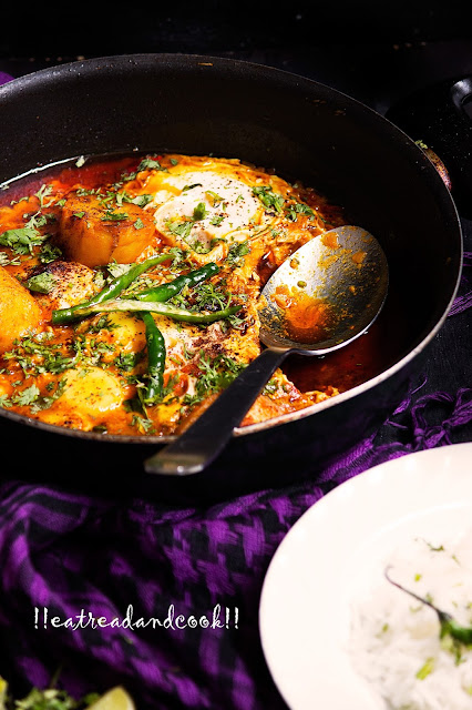 how to cook indian egg curry recipe