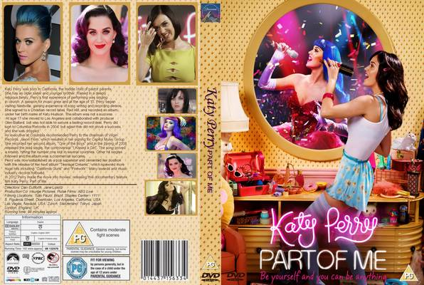 Katy Perry: Part of Me BRRip XviD Legendado Katy Perry Part Of Me 2012  Front Cover 69524