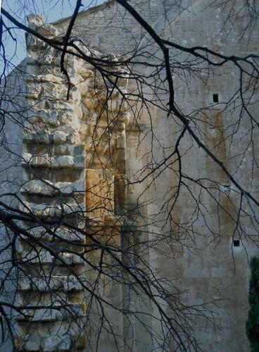 2 Vue extérieur - Abbaye de Montmajour