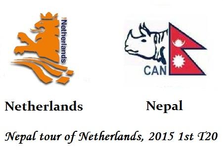 Netherlands vs Nepal T20