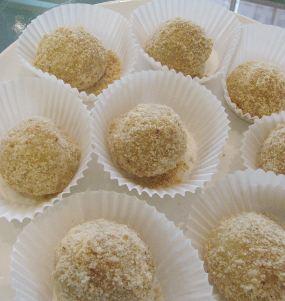 resep cara membuat kue mochi kacang wijen aneka kue yang manis dan ...