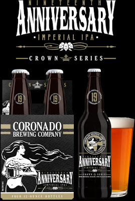DOn't Miss Coronado Brewing Co's 19th Anniversary Party - 8/8