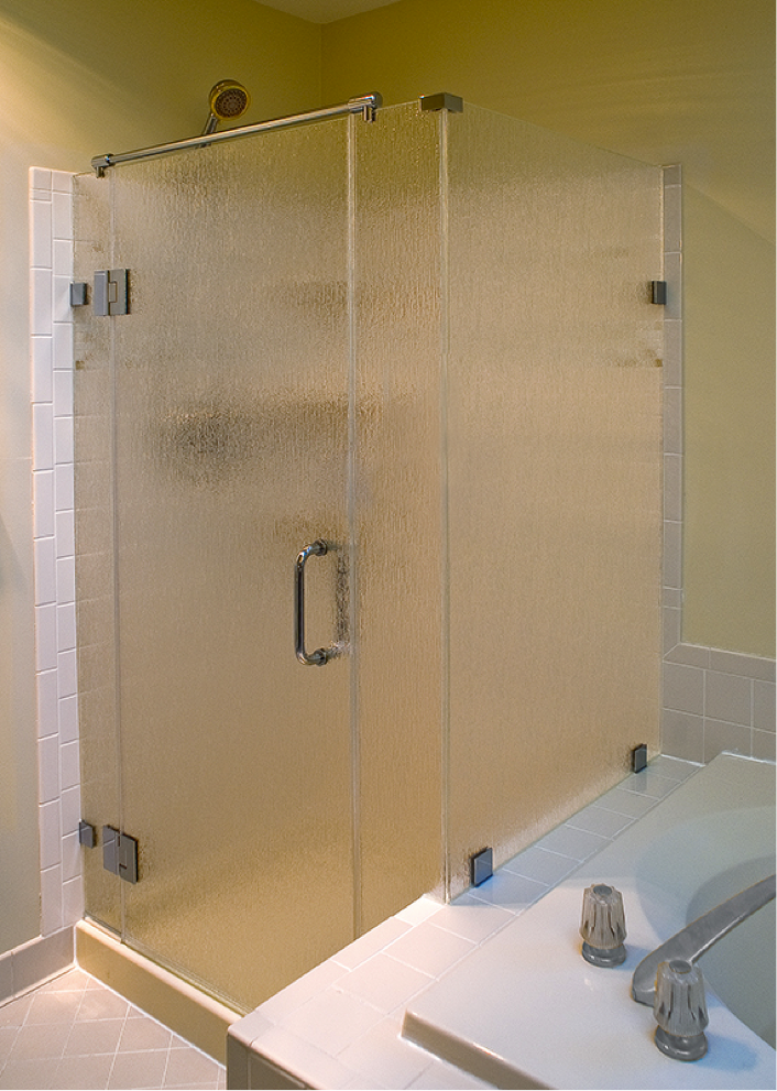 how to cut tempered glass shower doors