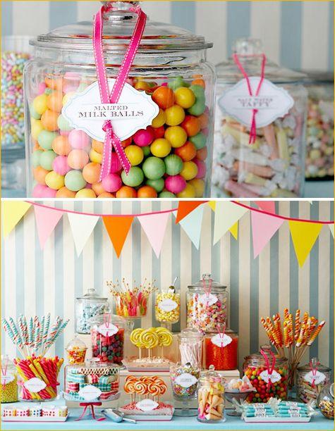 Candy bar tienda de chuches