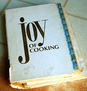 Well worn copy of Joy of Cooking