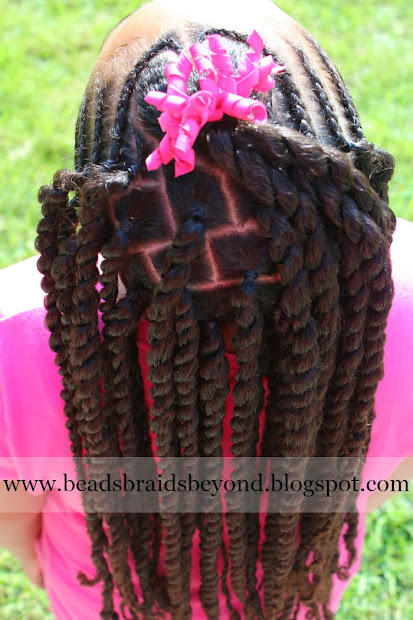 beads braids and cornrows