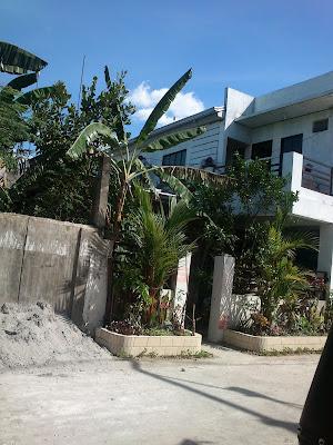 na plano ng bahay namin at ng mga kahilera nito