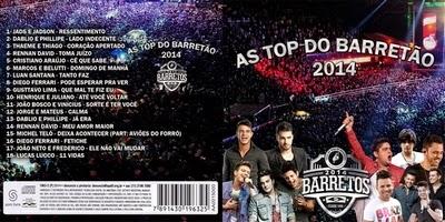 As Top Do Barretão 2014 CD 2014
