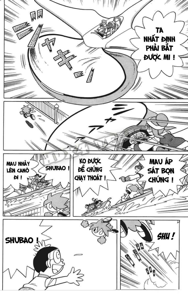 Truyện tranh Doraemon Dài Tập 25 - Nobita và truyền thuyết thần rừng trang 109