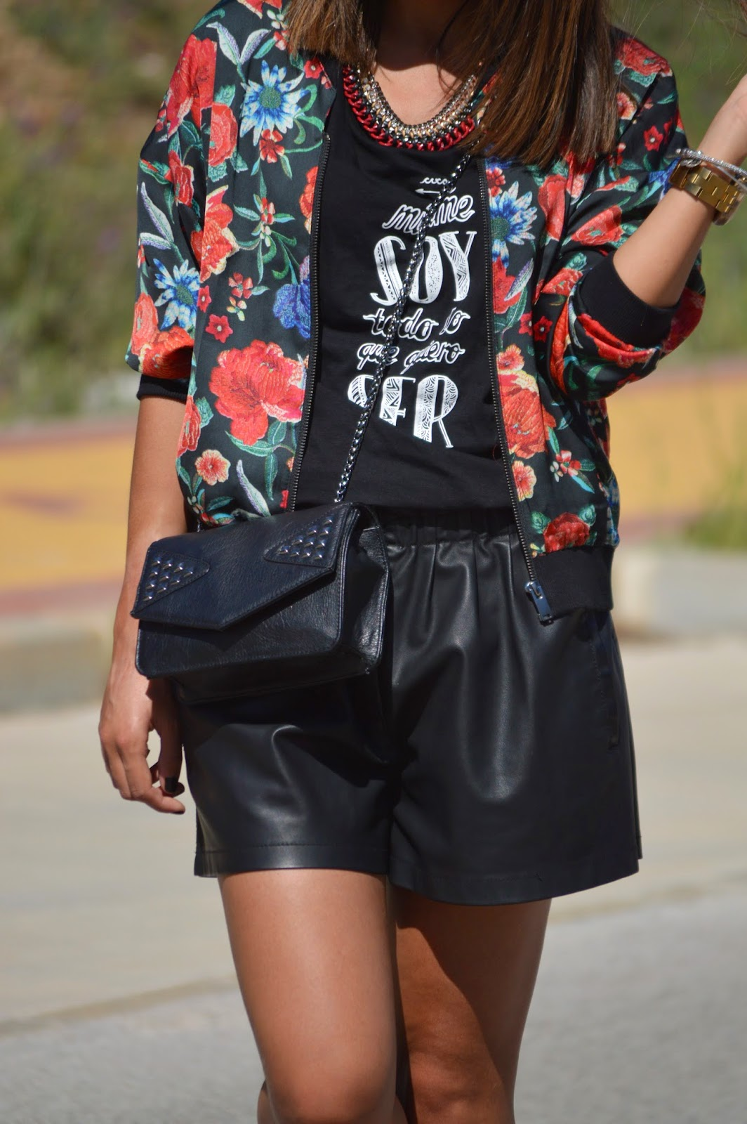 street style style fashion ootd cristina style fashion blogger malagueña blogger malagueña bomber zara mango spring outfit look chic casual lovely gorgeous moda mood trend