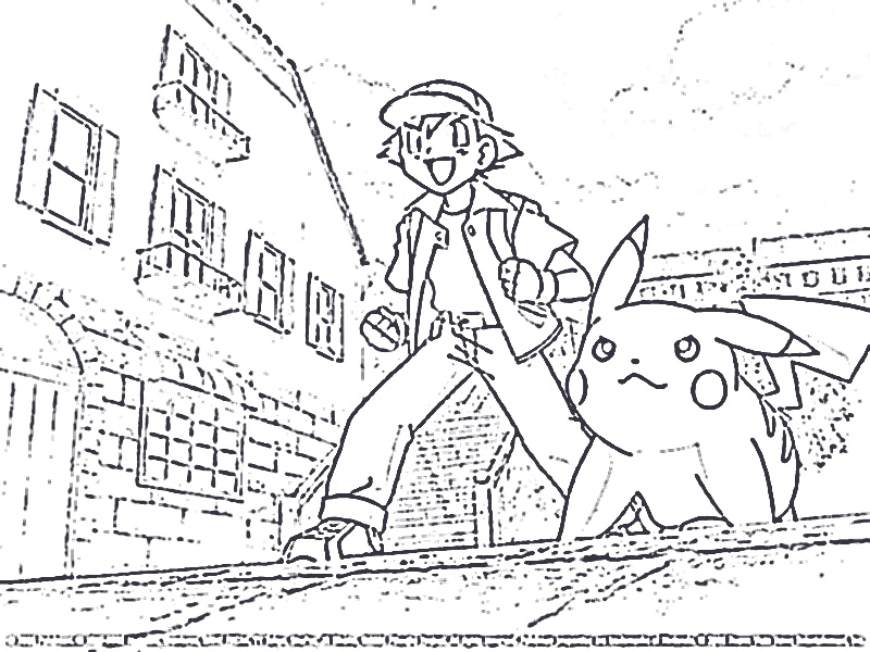 Pokemon Coloring Pictures Pagez