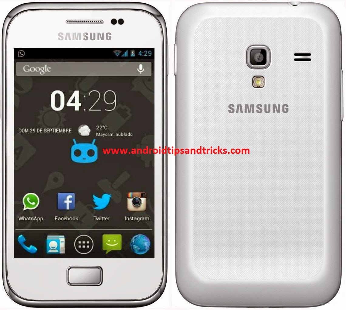 update samsung galaxy ace with android 4.2 rom