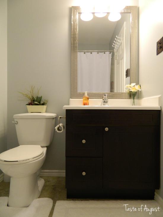 bathroom reno reveal