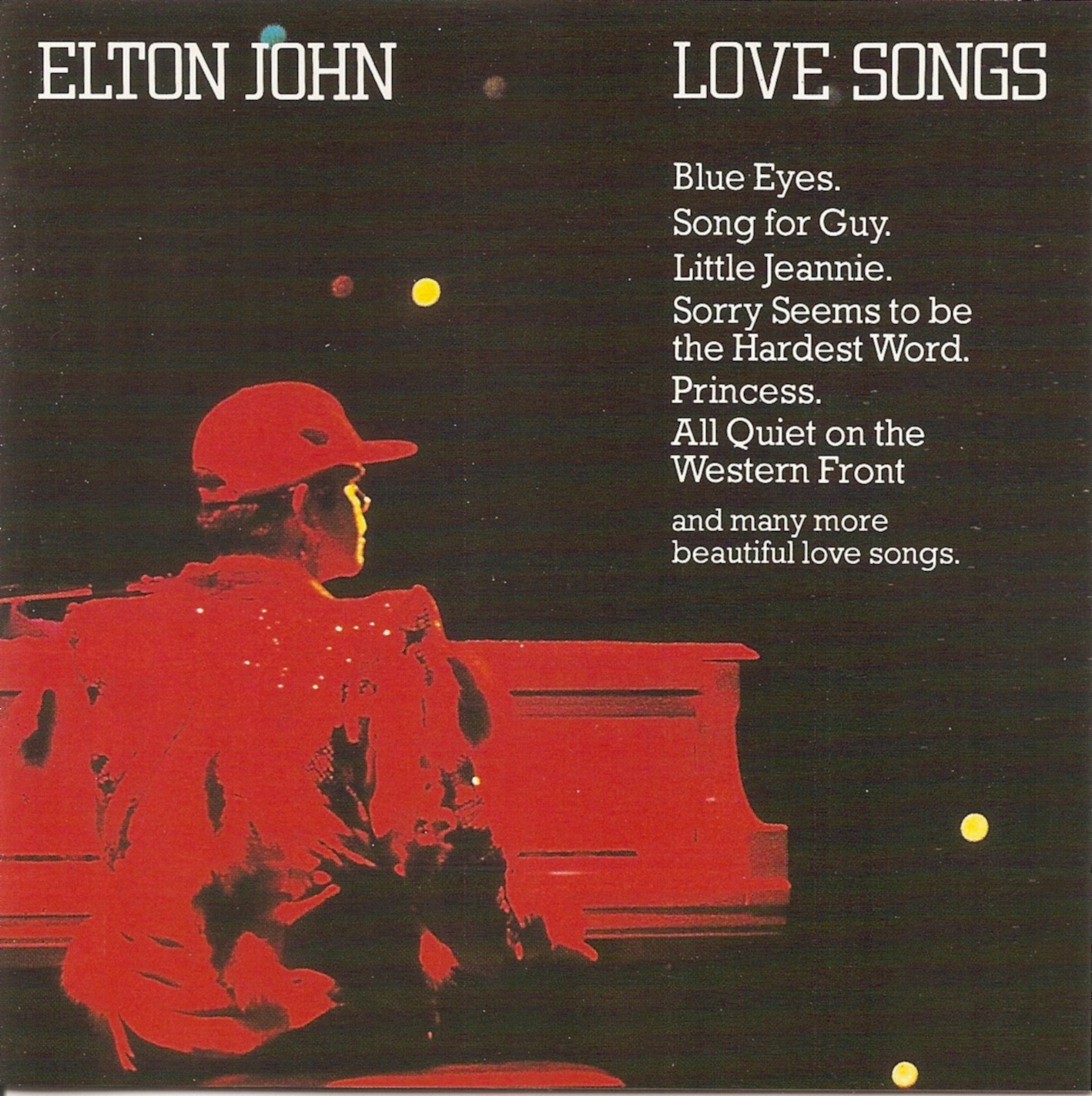 The First Pressing CD Collection: Elton John - Love Songs